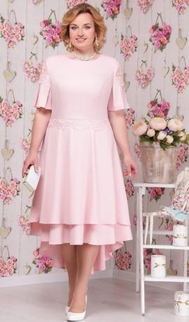 3-1468 Gaiši rozā kleita