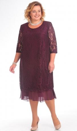 LIA2451 Violeta mežģīņu kleita