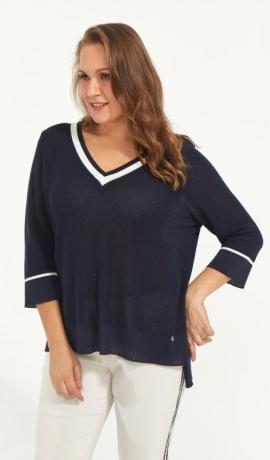 1-1234 Tumši zils džemperītis