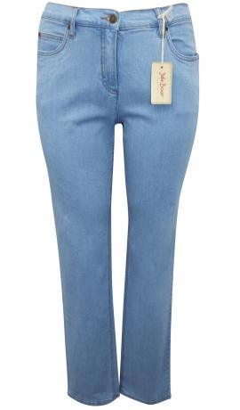 5-0357 Gaiši zilas džinsu bikses