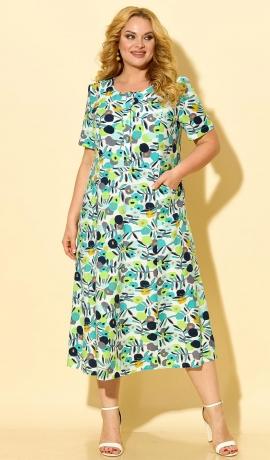 LIA7435 Raiba raksta kleita