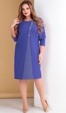 LIA5054 Zila kleita