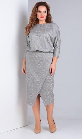 LIA5047 Sudrabkrāsas kleita