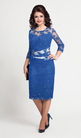 3-0550 Zila svētku kleita