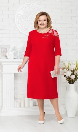 LIA2372 Sarkana kleita