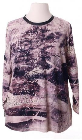 1-1078 Rakstains, violets krekls.
