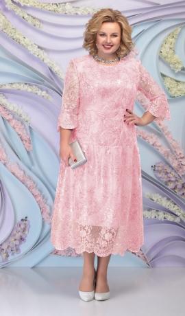 LIA6091 Mežģīņu kleita ar spīdumu