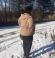 6-0295 Bēša stepēta vējjaka ar noņemamu kapuci