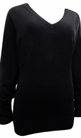 2-0372 Melns džemperis