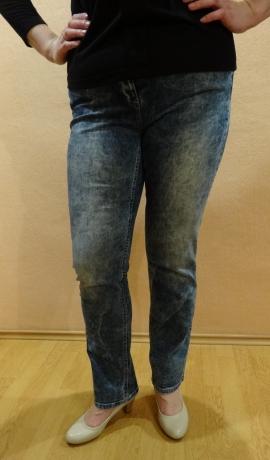 5-0317 Balinātas, zilas džinsas