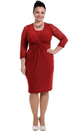 3-0730 Sarkana kleita