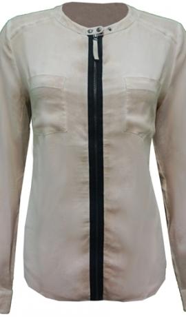 1-1020 Biskvīta krāsas krekls