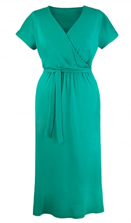 3-0440 Zaļa vasaras kleita