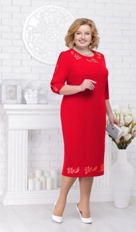 LIA2552 Sarkana kleita
