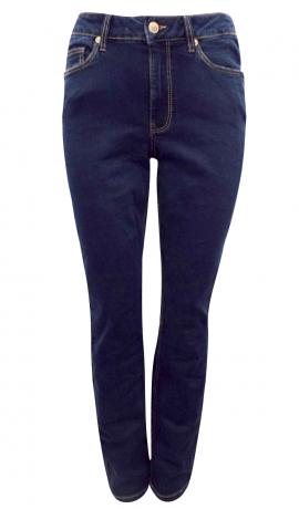 5-0365 Tumši zili pieguļoši džinsi