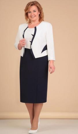 LIA1428 Eleganta kleita ar žaketi