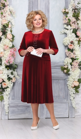 LIA4596 Sarkana samta kleita