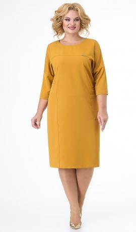 LIA7456 Sinepju krāsas kleita