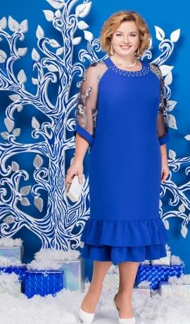 3-1338 Zila svētku kleita