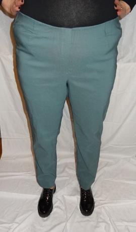 5-0398 Smaragd zaļas krāsas eletīgas bikses.