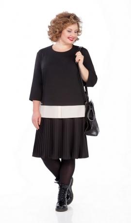 LIA5117 Kostīmu imitējoša kleita