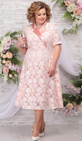LIA5619 Gaiši rozā kleita