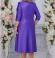 LIA4405 Violetas krāsas kleita