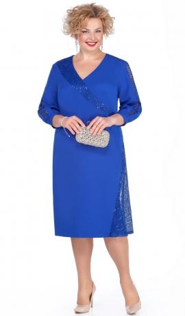 LIA4664 Zila kleita