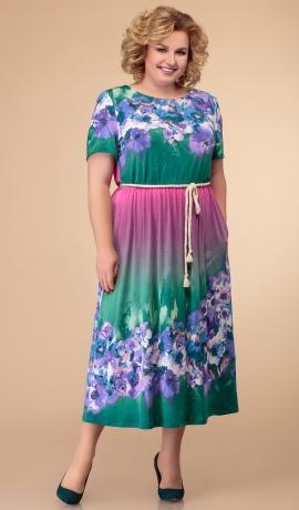 LIA5872 Košu krāsu kleita