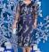 3-1410 Tumši zila kleita ar mežģīni