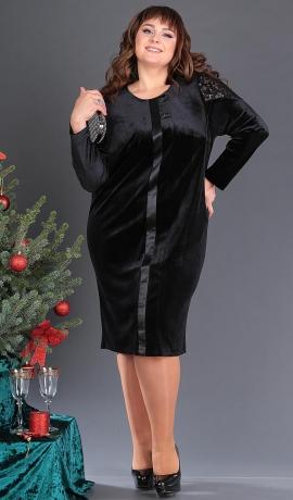 LIA4332 Melna samta kleita