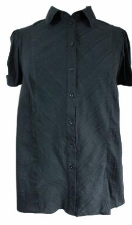1-0329 Melns kokvilnas krekls