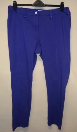 5-0196 Violetas auduma bikses