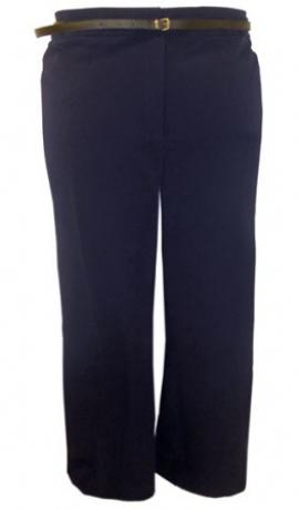 5-0127 Tumši zilas bikses ar jostiņu