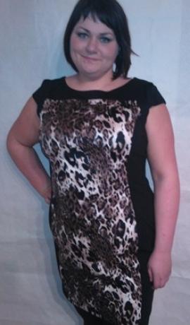 3-0106 Kleita ar leopardrakstu