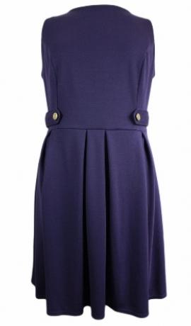 3-0092 Violeta militārstila kleita