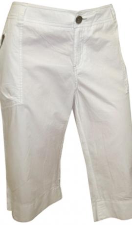 5-0175 Baltas krāsas kokvilnas īsbikses