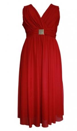 3-0103 Sarkana svētku kleita