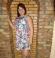 3-0156 Ceriņu multikrāsas kleita