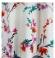 1-0295 Krēmkrāsas tūnika ar ziediem
