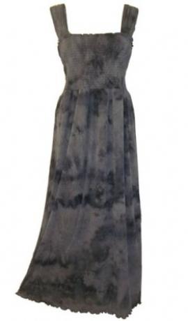 3-0067 Pelēka maxi kleita