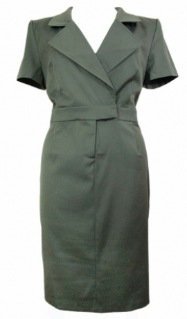 3-0147 Haki krāsas kleita