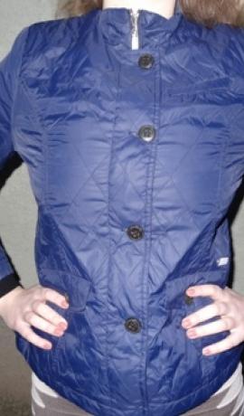 6-0164 Tumši zila virsjaka (stepētā)