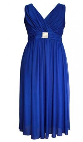 3-0105 Zila svētku kleita