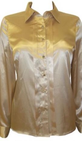 1-0227 Karameļkrāsas blūze