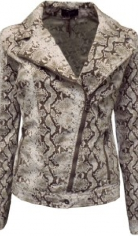 6-0186 Čūskādas imitācijas jaka