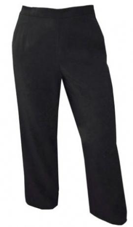 5-0123 Melnas bikses ar kabatām