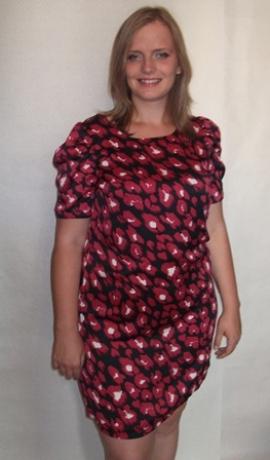3-0076 Satīna kleitiņa