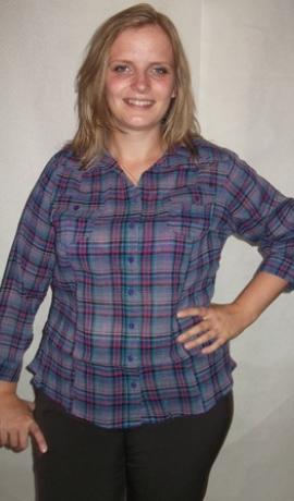 1-0322 Violets & Rozā krekls
