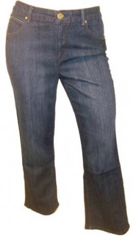 5-0117 Tumši zili džinsi ar paplatinātiem galiem